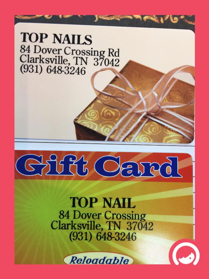 Top Nails gift card never expires.