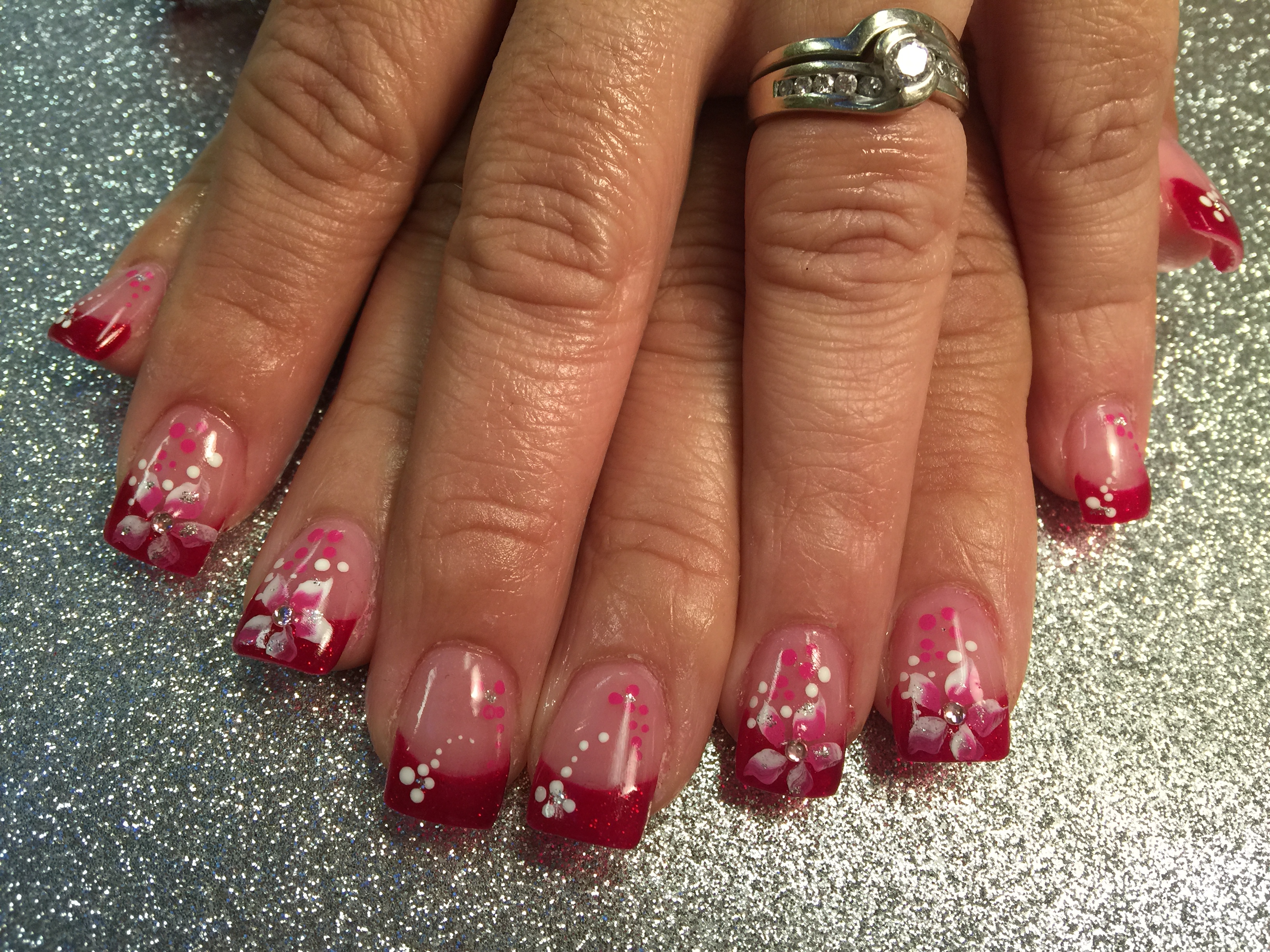 Lovely stargazer lily nail art designs by top nails clarksville tn lovely stargazer lily nail art designs by top nails clarksville tn izmirmasajfo