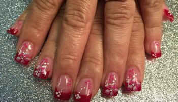 Moonlight stargazer lily nail art designs by top nails lovely stargazer lily nail art designs by top nails clarksville tn prinsesfo Image collections