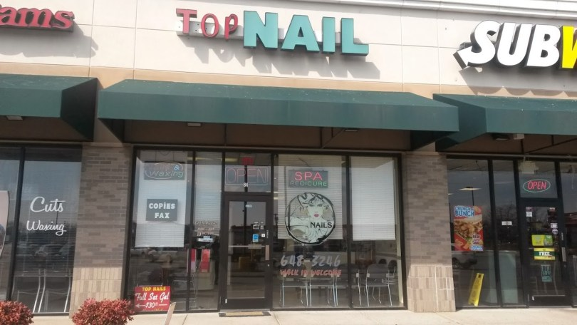 Welcome to Top Nails. Voted best nail salon in town.