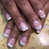 Elegant SNS pink & white set