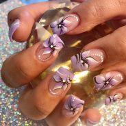 So pretty, flower nail art designs