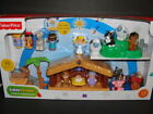 NEW LITTLE PEOPLE Deluxe Nativity Set 15 Figures Jesus Manger Kids Toy Christmas