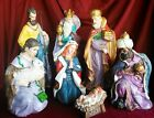 Christmas Nativity Set Large Complete Scene Christmas Tabletop Holiday Decor