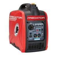 Predator 2000 Peak /1600 Watts, 2.8HP Portable Inverter Generator CARB & EPA III