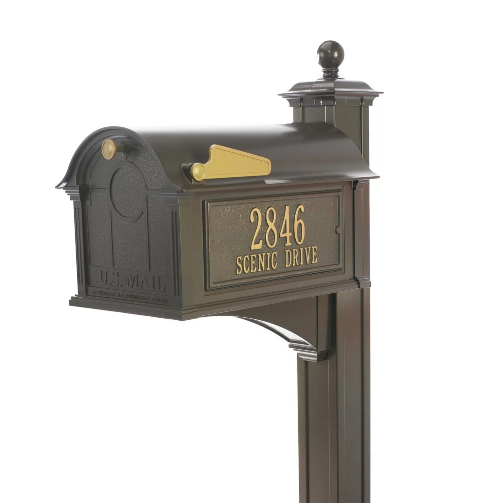 Streetside Ultimate Mailbox Package Finish (Bronze)
