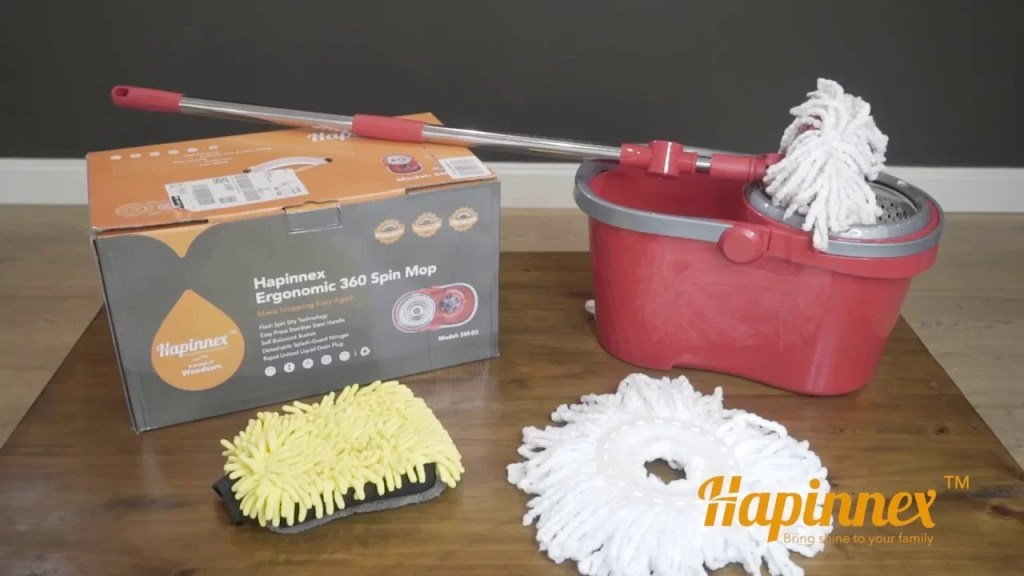 Hapinnex Magic Ergonomic Spinning Mops