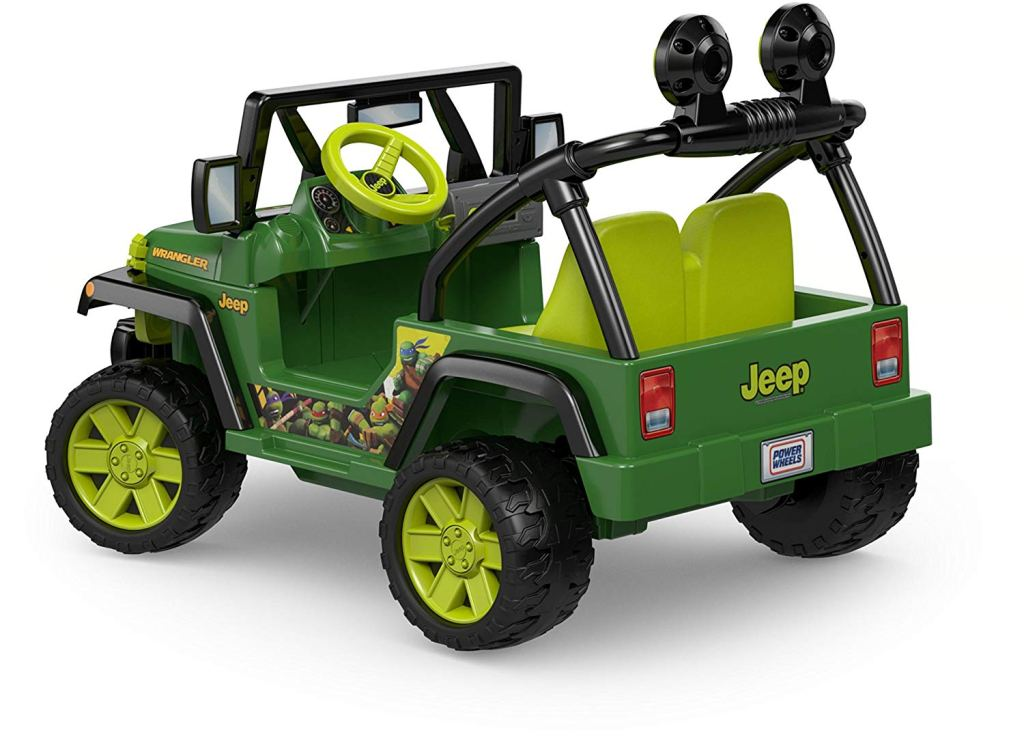 Nickelodeon Teenage Mutant Ninja Turtles, Jeep Wrangler back