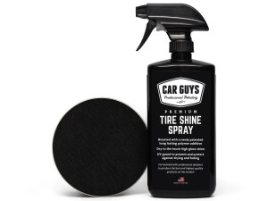Car Guys Tire Shine Tire Dressing and Car Care Kit
