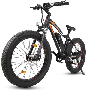 "ECOTRIC Powerful Electric Bicycle 26"" Fat Tire 500W Motor"