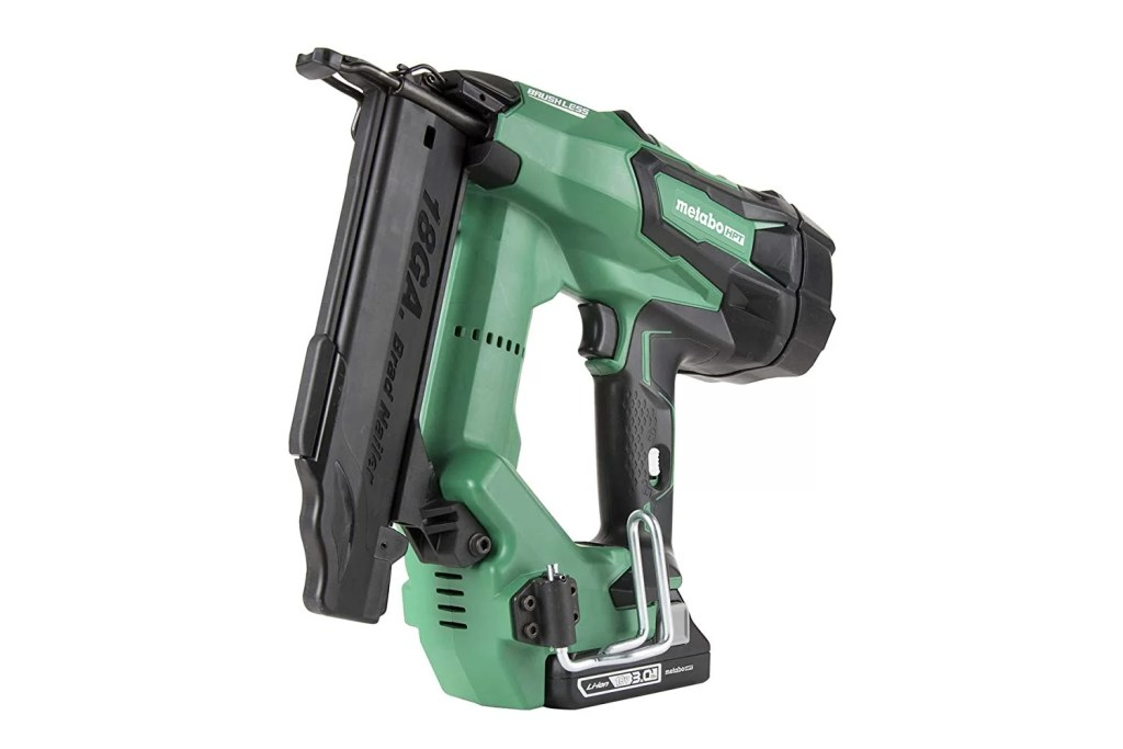 Metabo HPT NT1850DE 18V Cordless Brad Nailer Kit, Brushless Motor, 18 Gauge