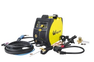Weldpro 200 Amp Inverter Multi-Process Welder with Dual Voltage 220V/110V Mig/Tig/Arc Stick 3 in 1 welder/welding machine