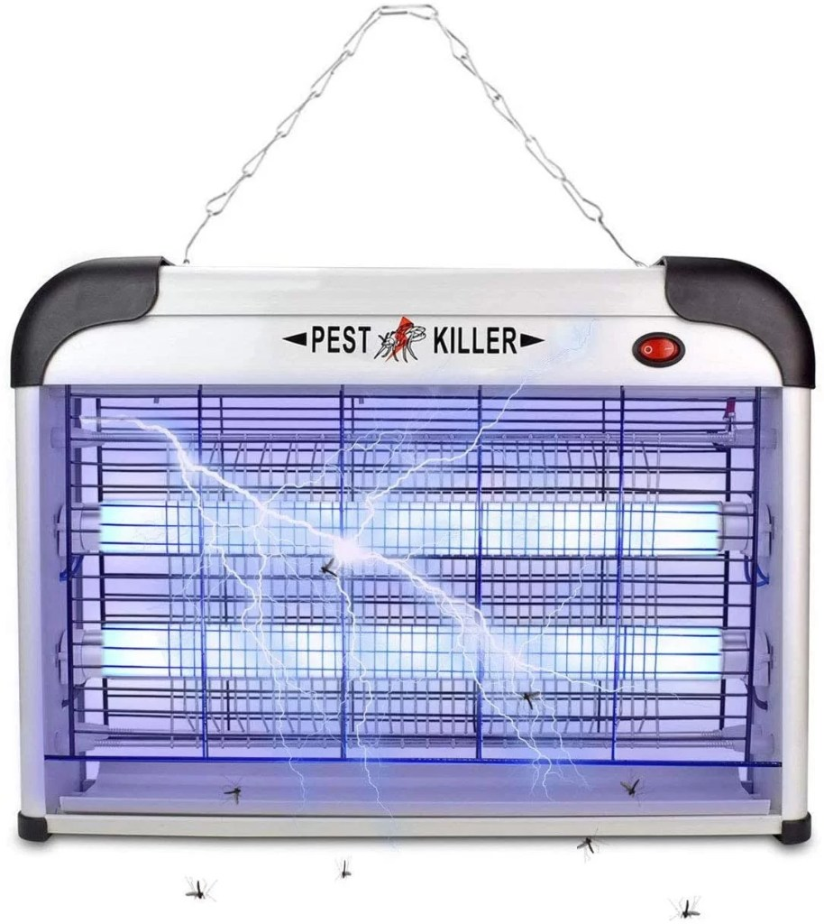 Electric Bug Zapper/Pest Repeller Control-Strongest Indoor 2800 Volt UV Lamp