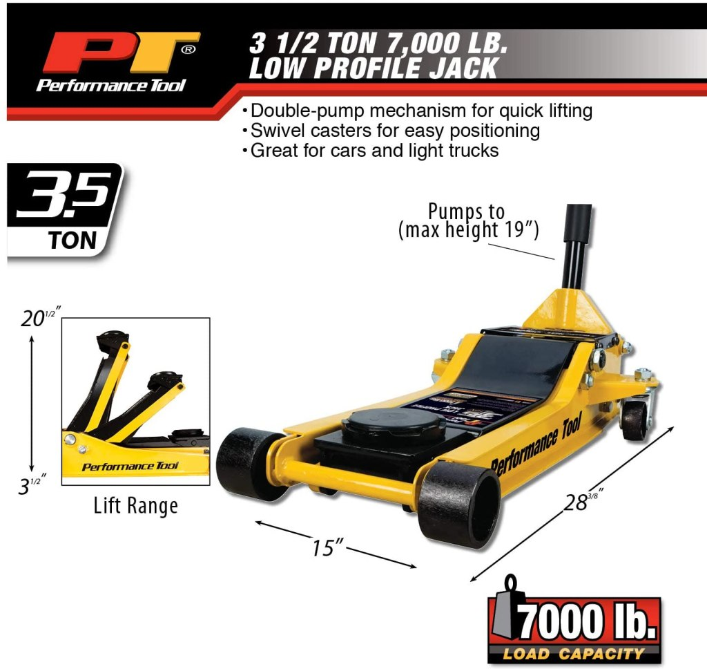 Performance Tool W1645 Floor Jack