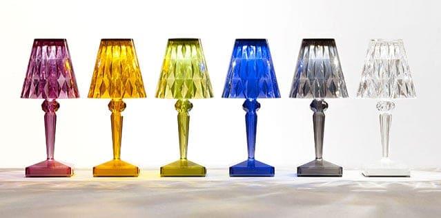 Kartell BATTERY lampada da tavolo a LED senza fili