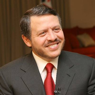 King Abdullah II of Jordan, who has spoken of the urgent need for Middle East Peace