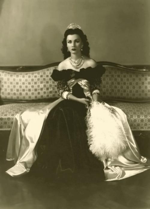 Фавзия Фуад, королева Ирана и Египта, 1939.