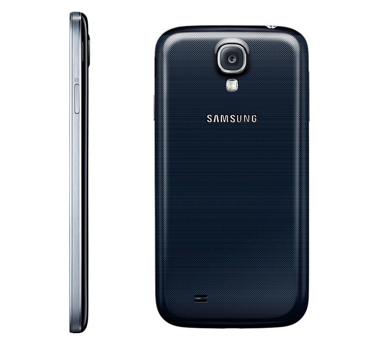 Galaxy S4 Camera, Back & Side Views