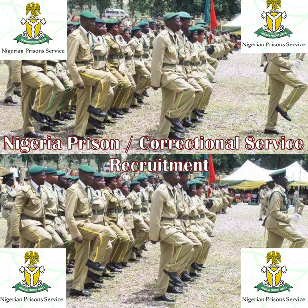 Nigerian Correctional Service Recruitment