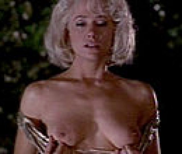 Mira Sorvino Pulls Down Dress Expose Boobs Nude Clips