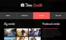 html шаблоны для сайтов фотографов