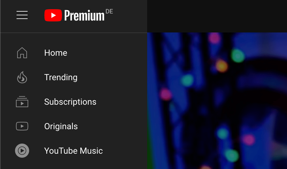 Updated new line style icons on YouTube Desktop