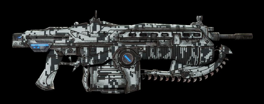 Skins De Las Armas Y El Season Pass De Gears Of War 3 El