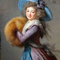 """Inspired by Élisabeth-Louise Vigée Le Brun's """"Madame Mole-Raymond"""" (1786)"""