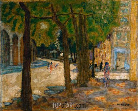 Boulevard Exelmans Paris  Pierre Bonnard  Painting