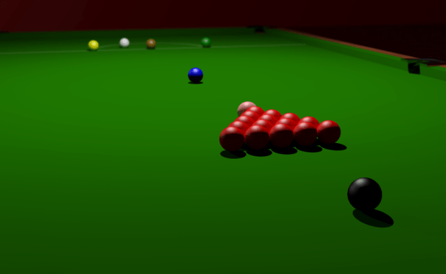 Top Of The Cue Playing Snooker