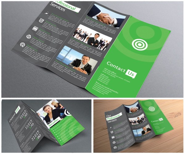 11x17 Trifold Brochure Printing