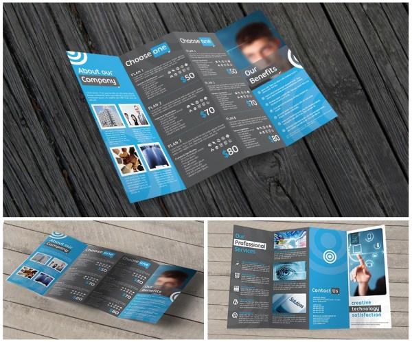 11x17 Quadfold Brochure Printing