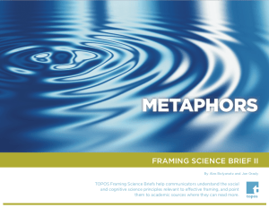 cover image of Framing Science Brief 2: Metaphors