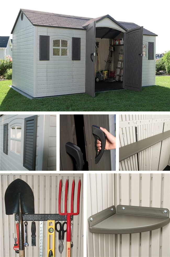 Best Outdoor Storage Sheds On The Market - Lifetime 6446 Large Outdoor Storage Shed