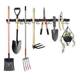 How To Organize Your Outdoor Storage Shed - Garden Tool Wall Organizer