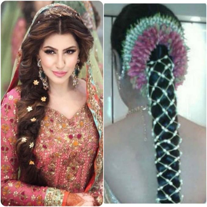 pakistani wedding hairstyles for long hair - top pakistan