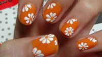 Nail Art Designs Step By Step Using Flowers   Flower Nail ...