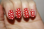 gorgeous and simple nail art design