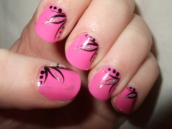 Gorgeous And Simple Nail Art Design Brides - Top Pakistan