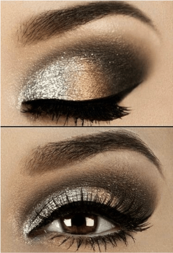 Black And Gold Smokey Eye Makeup To Look Inspired Top Stan