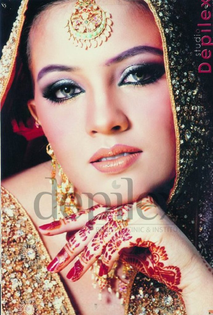 Amazing Bridal Party Make Over By Depilex Salon  Top Pakistan