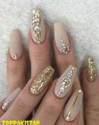 Artificial Nail Art Designs 2017 | Fake Nail Shapes | Nail Art