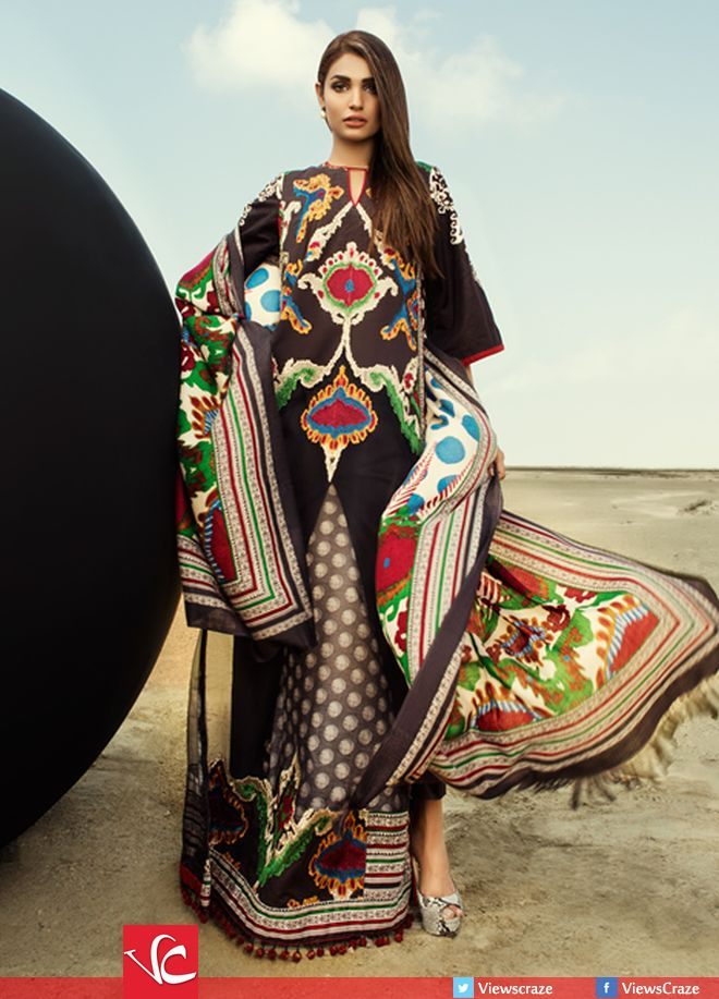Sana Safinaz Lawn 2018 Summer CollectionSana Safinaz Lawn