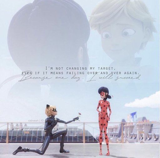 I'm not changing my target, even if it means failing over and over again. BECAUSE ONE DAY, I WILL SUCCEED..💖💚🖤❤️ | Miraculous Amino