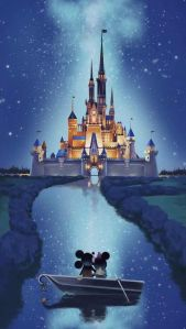 Minnie and Mickey Mouse Wallpaper for