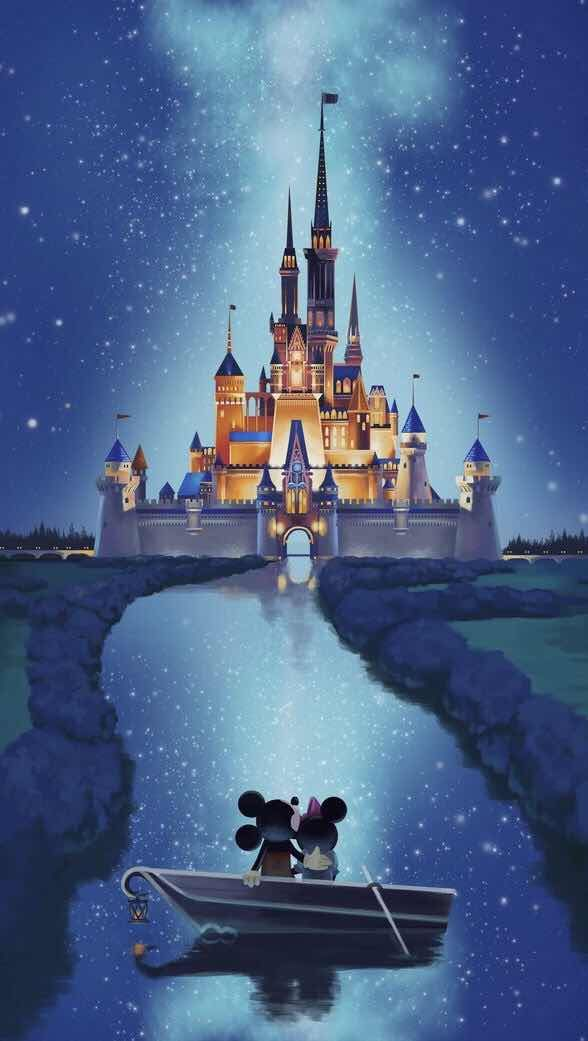 Minnie and Mickey Mouse Wallpaper for iPhone and Android