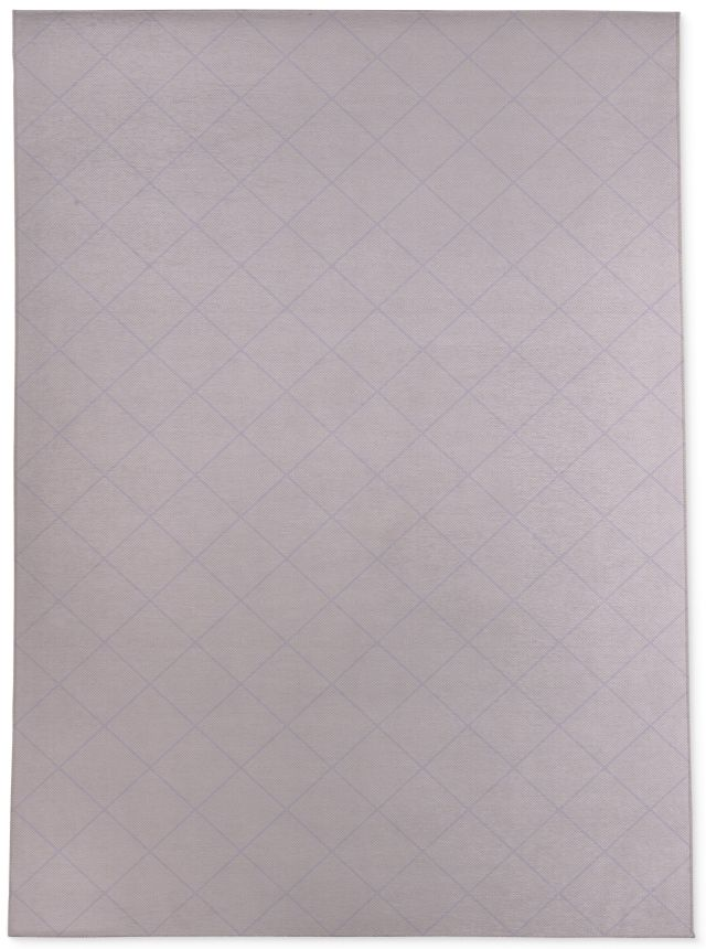 STICH TRIBAL DIAMOND Area Rug By Becky Bailey - 5ft x 7ft / Purple
