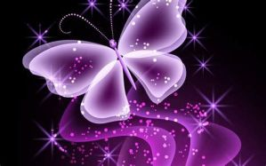 Abstract Pink Butterfly Wallpa