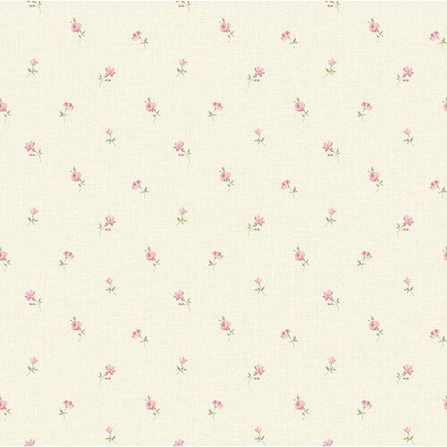 Grandeco Little Frorals 1.05m x 52cm Textured Matte Paste the Wall Wallpaper Roll
