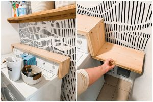Modern Laundry Room Refresh With Hand Dr